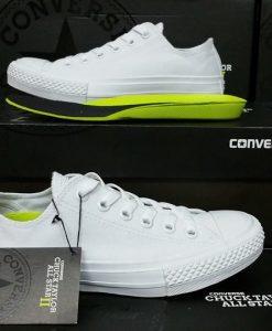 Converse Chuck 2 trắng cổ thấp