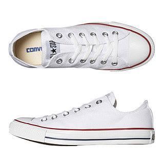 Converse classic trắng cổ thấp