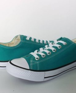 Converse classic xanh mint cổ thấp