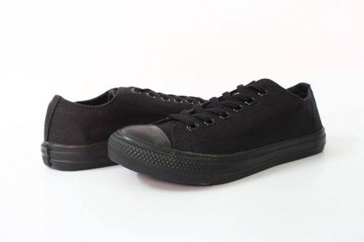 Converse classic Full đen cổ thấp