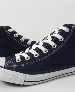 Converse Classic xanh đen cổ cao