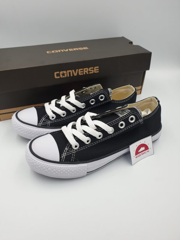 Converse classic đen cổ thấp
