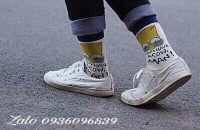 Vớ hoạt hình sỉ kèm giày