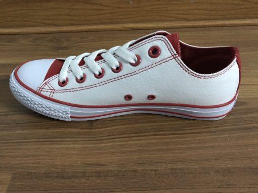Classic trắng/đỏ thấp
