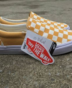 Vans checkerboard yellow