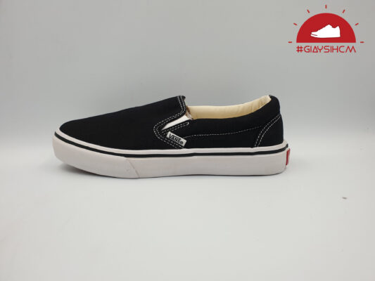 vans classic slip-on đen