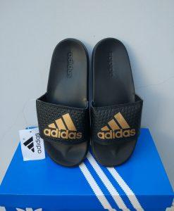 dép adidas 02 đen vàng