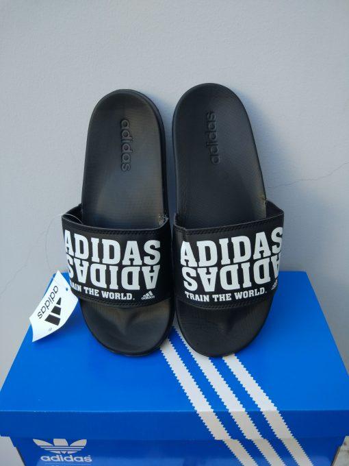 dép adidas train the world đen