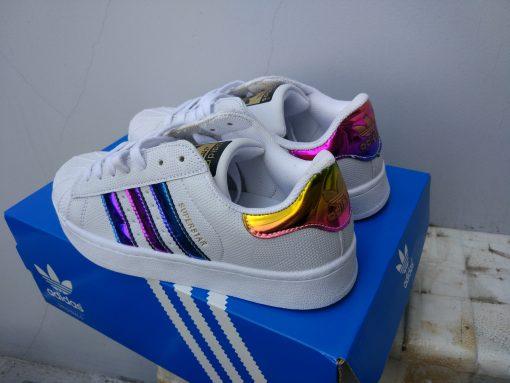 Giày adidas superstar sò 7 màu nhạt