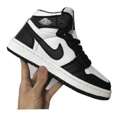Jordan 1 đen trắng