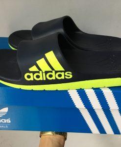 dép adidas đúc 03 đen đỏ