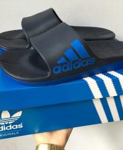 dép adidas đúc 03 xanh đen