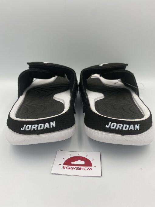 Dép Jordan Hydro 4 đen trắng