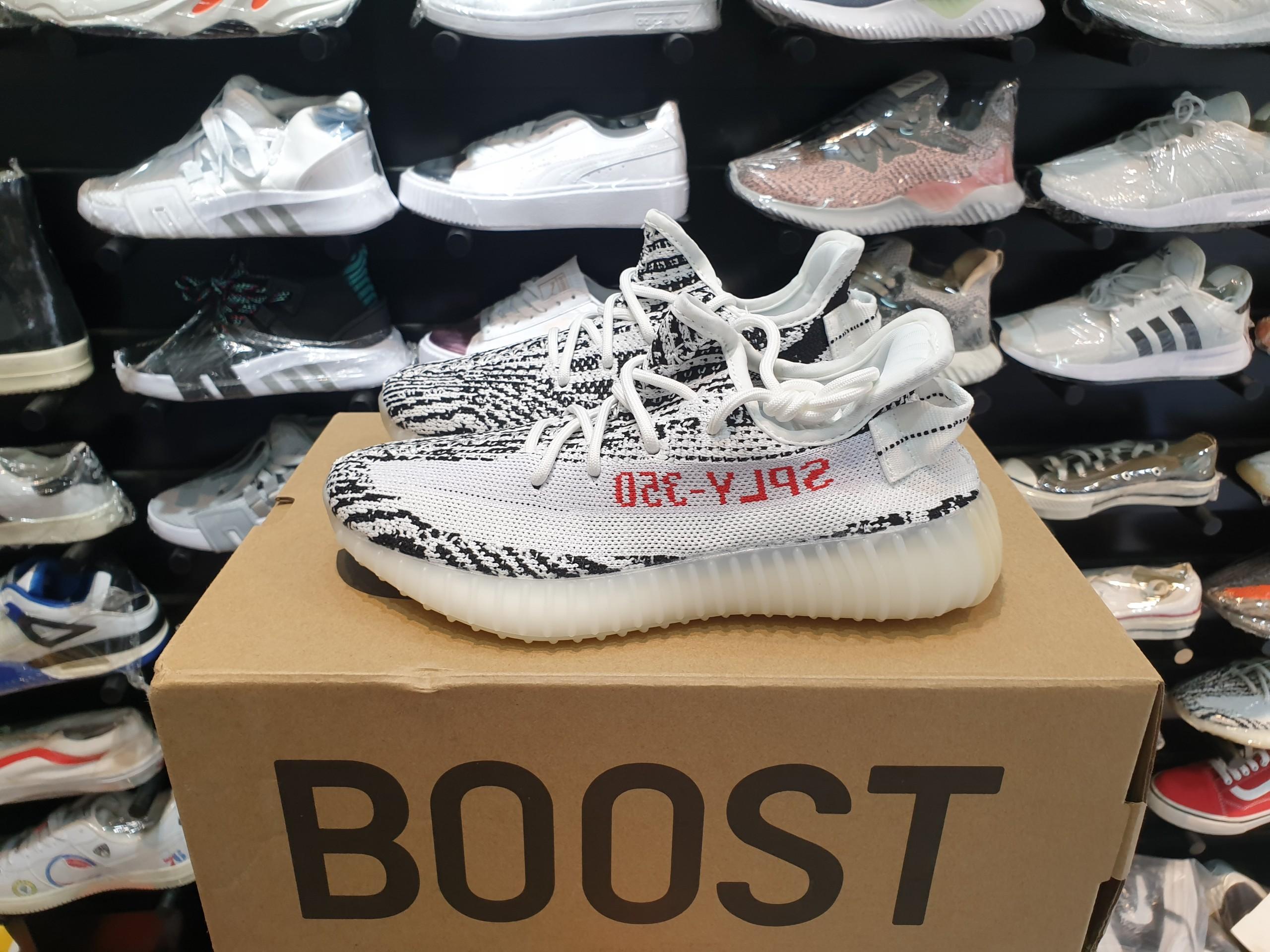 yeezy 350 v2 zebra replica