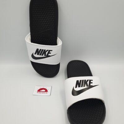 Nike benassi đen quai trắng VN