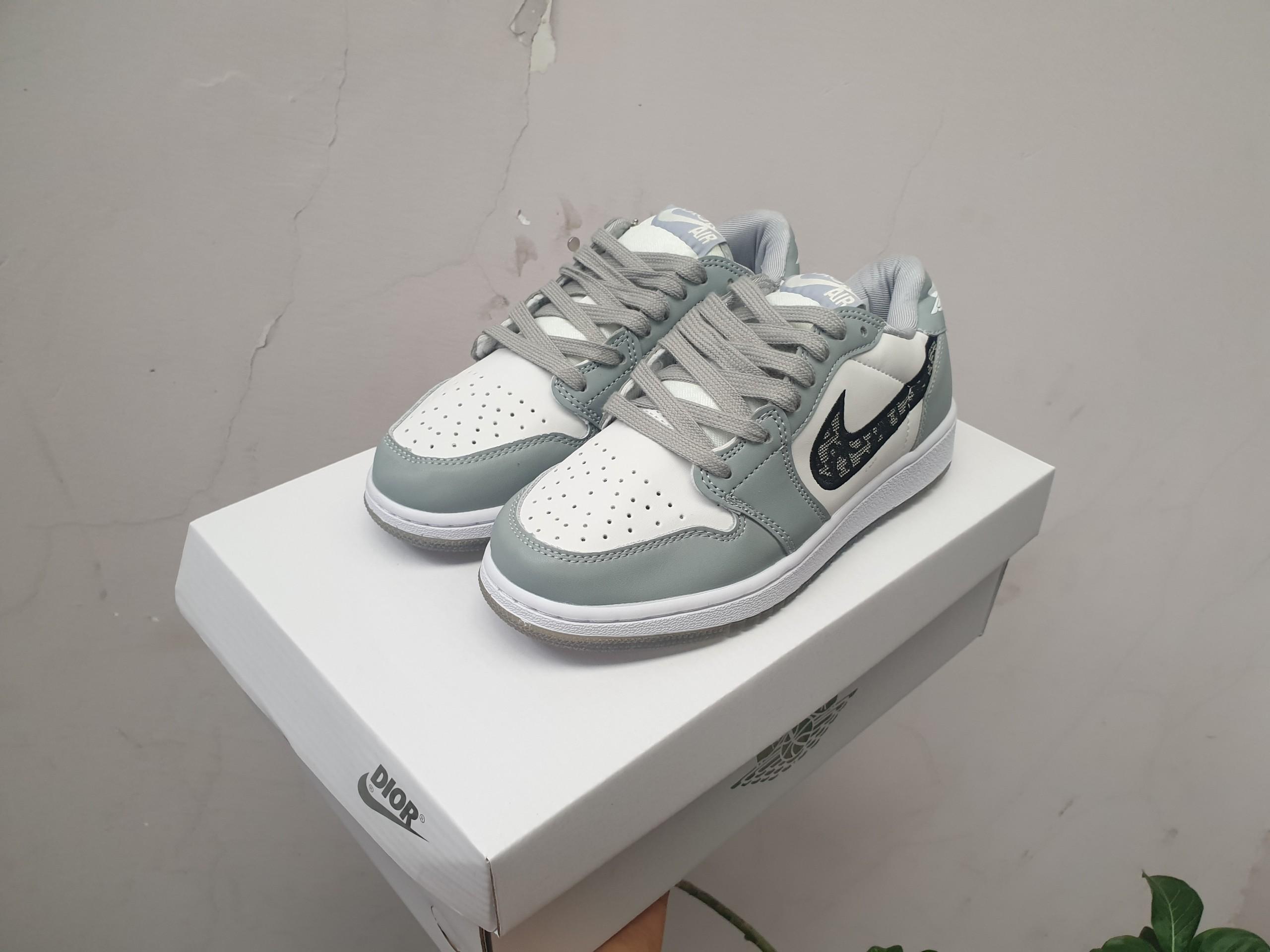 Giày jordan 1 Dior cổ thấp replica