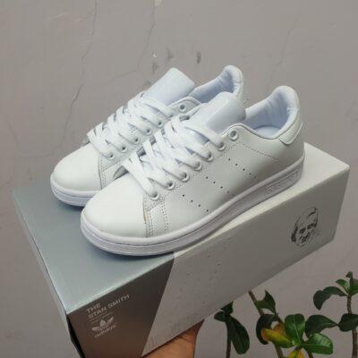 Giày adidas Stan Smith trắng replica full phụ kiện