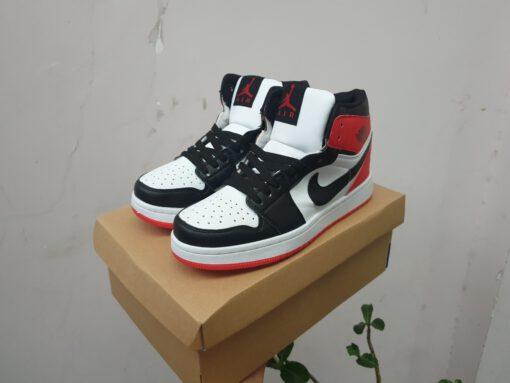 Giày jordan 1 cổ cao màu đen đỏ