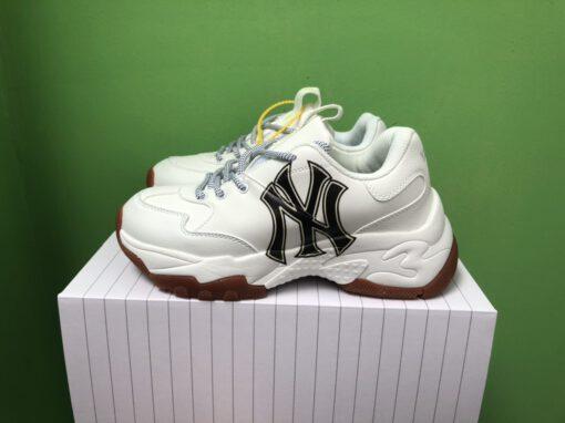 Giày MLB New York Yankess Đế Nâu Big Ball Chunky replica