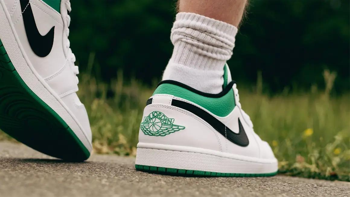 Air-Jordan-1-Low-Lucky-Green-White