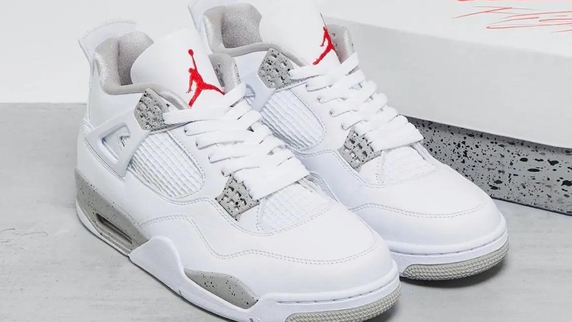 Air-Jordan-4-White-Oreo