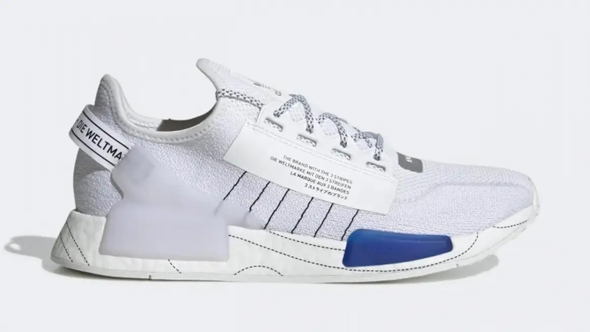 """adidas NMD R1 V2 """"Cloud White"""""""