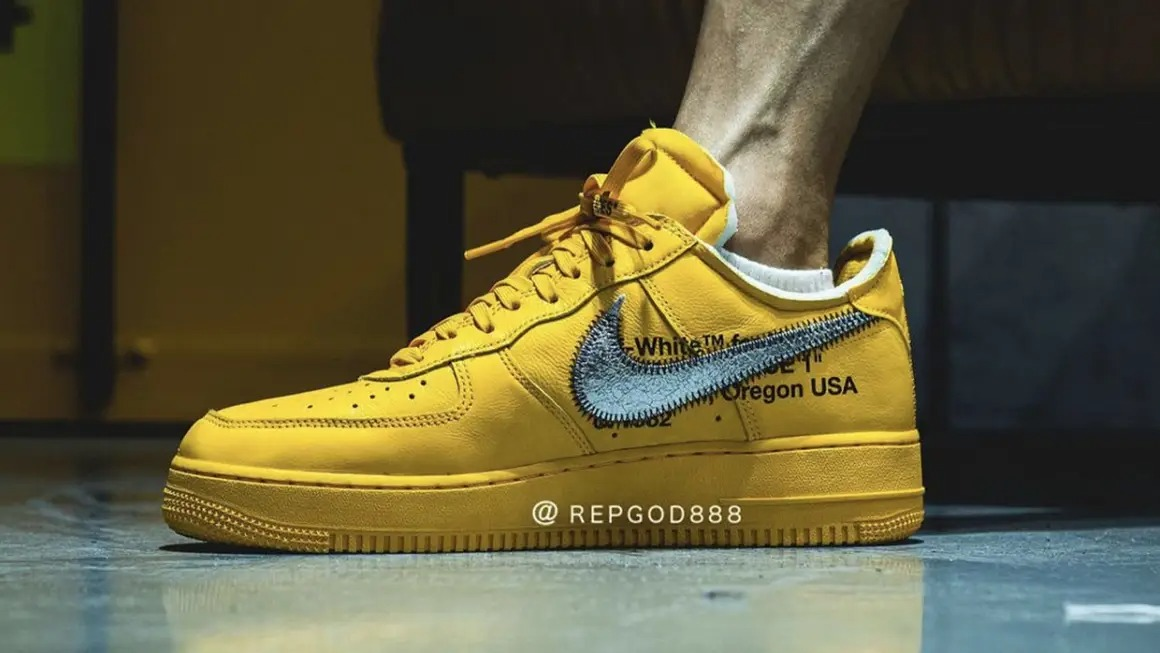 Off-White-x-Nike-Air-Force-1-University-Gold