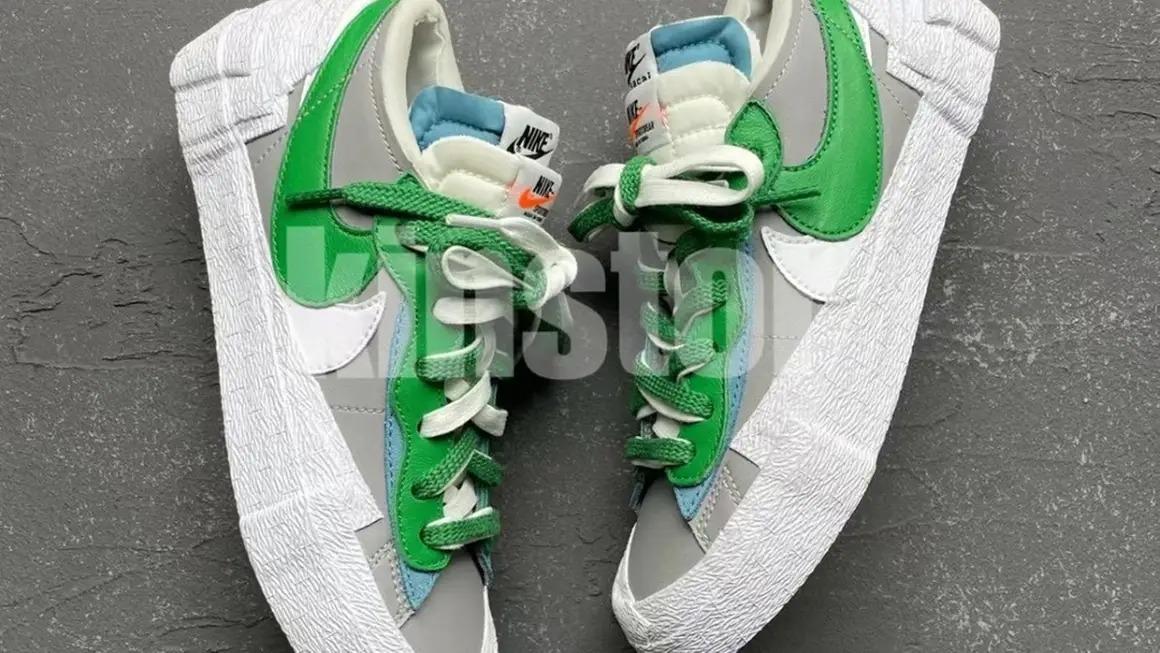 sacai-x-Nike-Blazer-low-Classic-Green